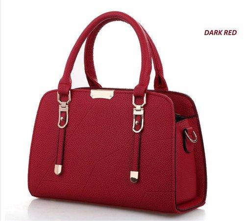 Korean Design Mix Leather Handbag W (end 4/20/2019 11:15 PM)