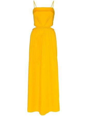 Johanna Ortiz Ancient Sunrise Cutout Bow-Detailed Maxi Dress Ss20 | Farfetch.Com