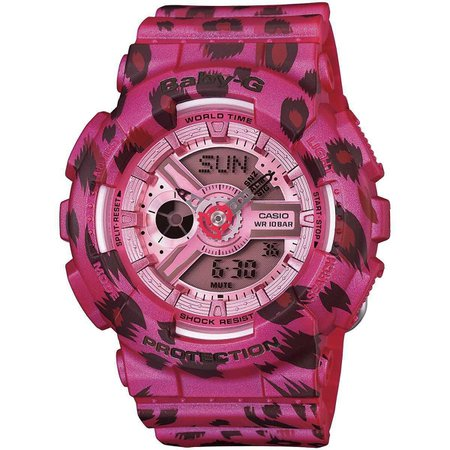 Baby-G: Pink Leopard Watch