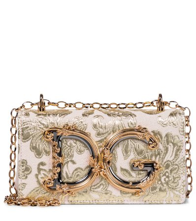 Dg Girls Small Brocade Shoulder Bag | Dolce & Gabbana - Mytheresa