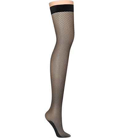 DNKY Fishnet Thigh Highs