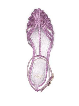 Alevì glitter strappy sandals - FARFETCH