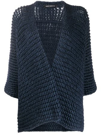 Iris Von Arnim Chunky Knit Cardigan Ss20   Farfetch.com