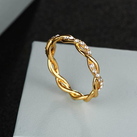 cute gold ring
