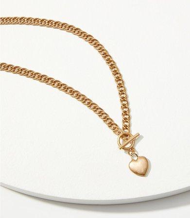 Heart Y Necklace | LOFT