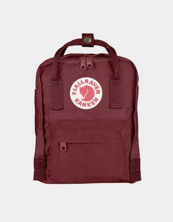 FJALLRAVEN Kanken Ox Red Mini Backpack - RED - 23561-326 | Tillys