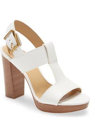 MICHAEL Michael Kors Becker Block Heel Platform Sandal (Women)   Nordstrom