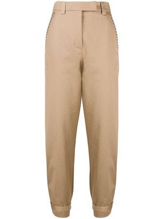 Pinko stud-embellished Trousers - Farfetch