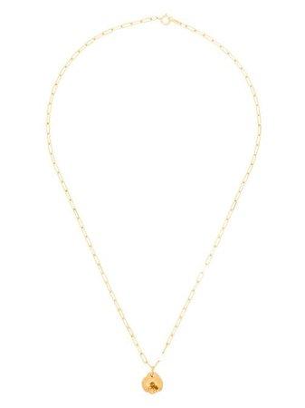 Alighieri Hammered Pendant Necklace - Farfetch