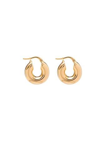 Jil Sander mini hoop earrings AW20 | Farfetch.com