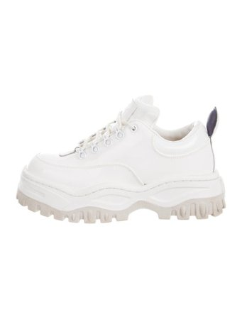 Eytys Leather Platform Sneakers - Shoes - WEYTY20280 | The RealReal