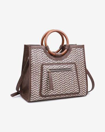 Moda Luxe Laguna Print Crossbody Bag