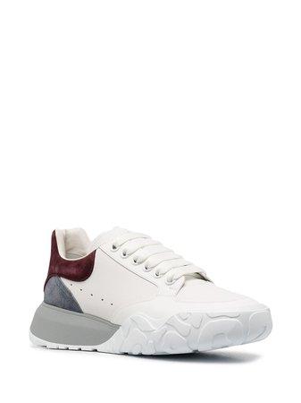 Alexander McQueen Oversized Court Sneakers - Farfetch