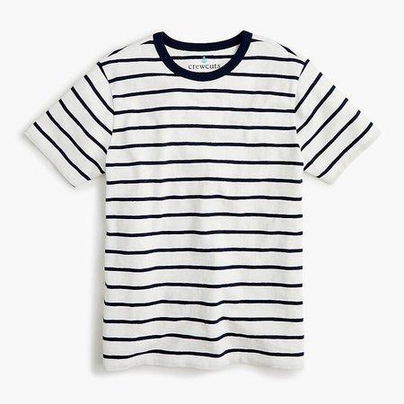 J.Crew: Kids' T-shirt In Navy Stripe