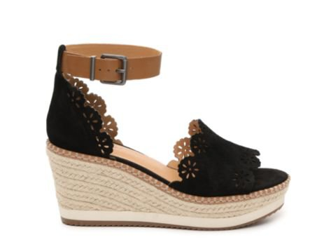 Crown Vintage Dunja Wedge Sandal | Sole Society Shoes, Bags and Accessories black