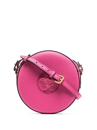 Versace La Medusa Round Crossbody Bag - Farfetch