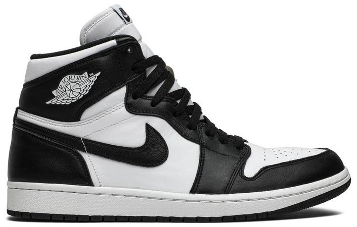 Air Jordan 1 Retro High OG 'Black/White' - Air Jordan - 555088 010 | GOAT