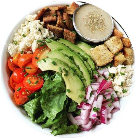 strong hearts cafe   cobb salad