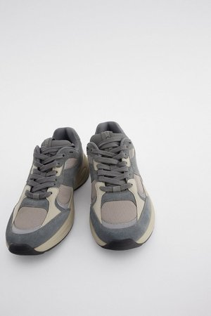 SNEAKERS COMBINATE | ZARA Italia / Italy