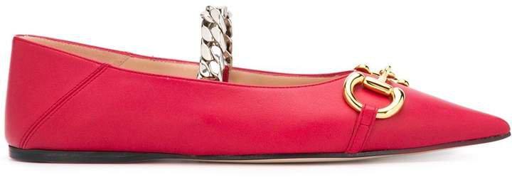 Deva Horsebit ballerina shoes