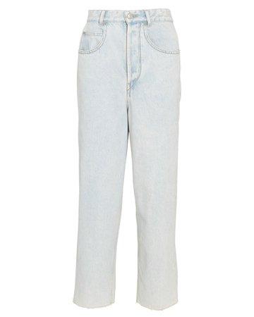 Isabel Marant Étoile Laliskasr Cropped Straight-Leg Jean   INTERMIX®