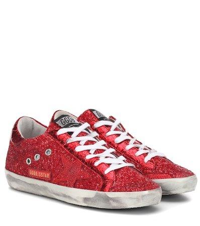 Superstar glitter sneakers