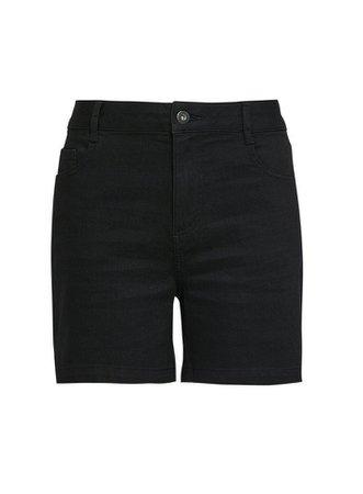Black Notch Shorts | Dorothy Perkins
