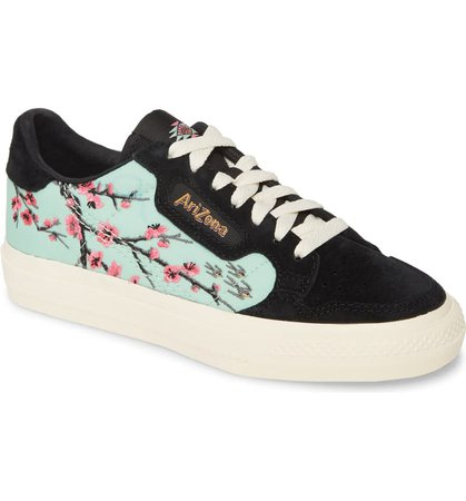 adidas Originals x AriZona Iced Tea Continental Vulc Embroidered Sneaker (Women) | Nordstrom
