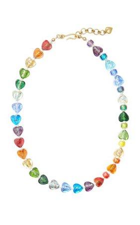 Shine On Bead & Mini Pearl Necklace By Brinker & Eliza | Moda Operandi