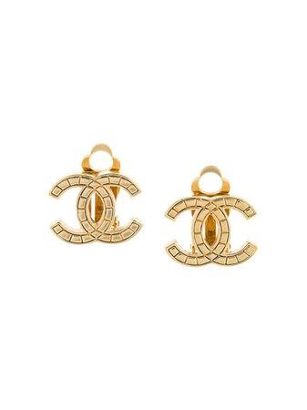 Chanel Pre-Owned Pendientes De Clip Chanel 2003 - Farfetch