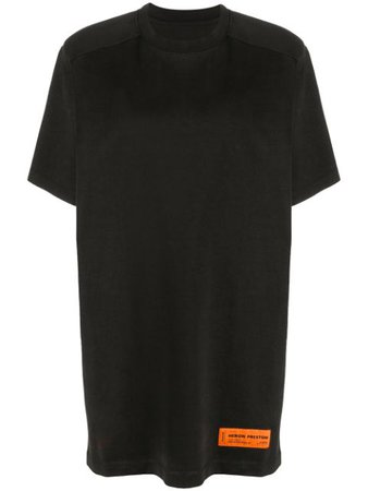 Black Heron Preston oversize fit T-dress - Farfetch