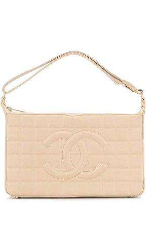 Chanel Pre Owned 2003 Choco Bar shoulder bag