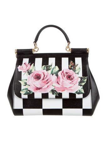 Dolce & Gabbana Printed Miss Sicily Bag - Handbags - DAG130080 | The RealReal