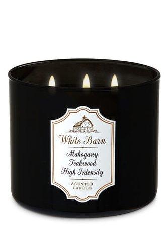 "White Barn Candle ""Mahogany Teakwood"""