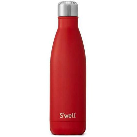 S'Well Scarlet Insulated Stainless Steel Water Bottle (2.005 RUB) ❤ liked on Polyvore featuring home, kitchen & dining, filler and scarlet
