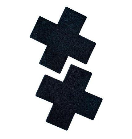 Pastease Black Cross Pasties