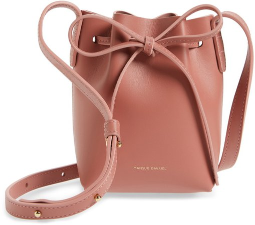 Baby Leather Bucket Bag