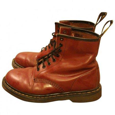 brown doc Martens