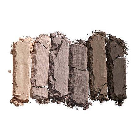 cool tone eyeshadow palette swatch