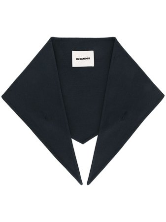 Jil Sander cashmere collar scarf - FARFETCH