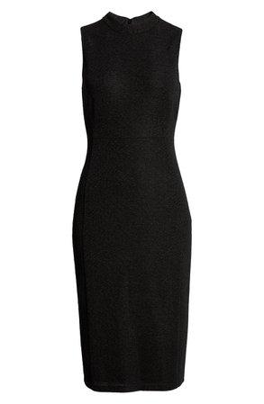 Anne Klein High Neck Sheath Dress | Nordstrom