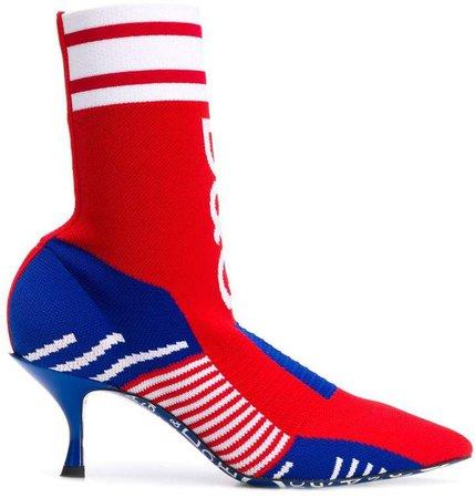 Logo Sock Boots