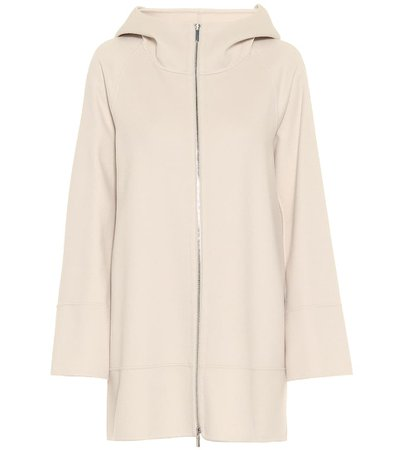 S Max Mara, Mozart virgin wool hooded jacket Coat