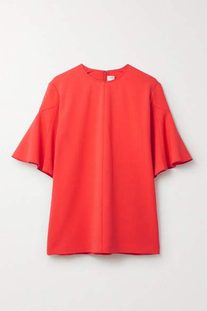 Victoria, Victoria Beckham - Crepe Top - Bright orange