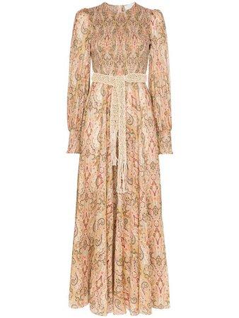 Zimmermann Paisley Print Maxi Dress - Farfetch