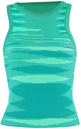Women Basic Ribbed Knit Tie Dye Tank Top Crew Neck Sleeveless Crop Top Y2K Summer Camisole Vest Top at Amazon Women's Clothing store