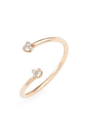 Zoë Chicco Bypass Diamond Ring | Nordstrom