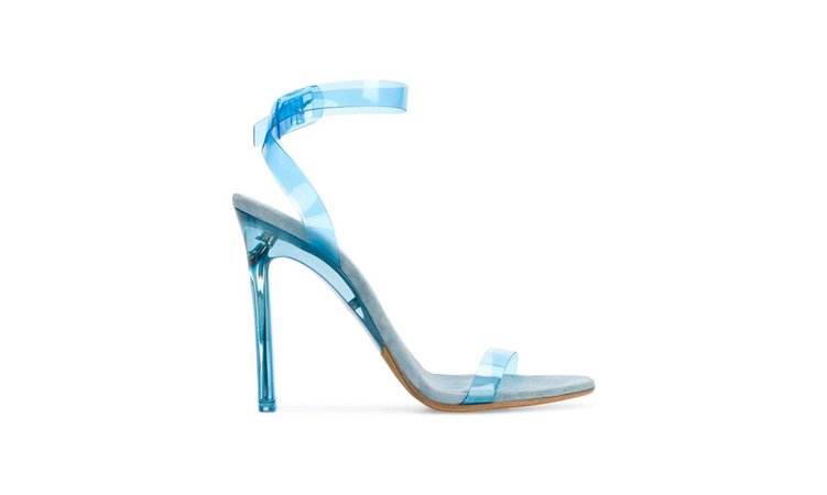 YEEZY Season 7 PVC ankle strap sandals $840