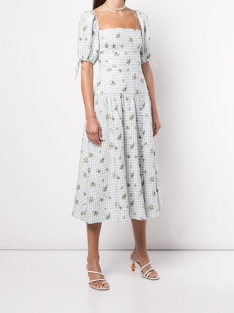 Reformation Melony floral-print Midi Dress - Farfetch