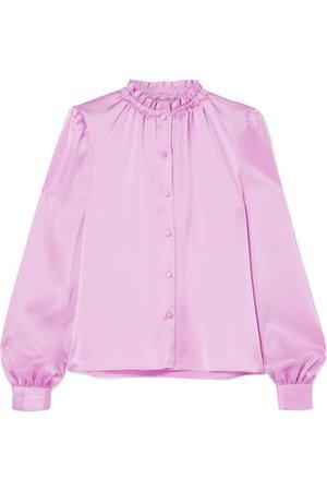 Satin-twill blouseI Co I  $416.50
